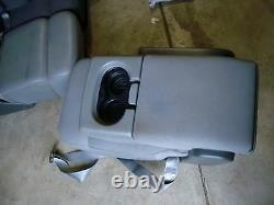 04-08 Ford F150 f-150 light GREY console jump seat F150 CUPHOLDER cloth 05 06 07