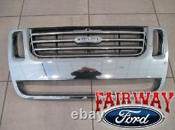 06 thru 10 Explorer Eddie Bauer Edition OEM Genuine Ford Chrome Grille Grill NEW