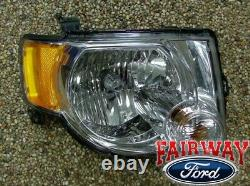 08 09 10 11 12 Escape OEM Genuine Ford Parts RIGHT Passenger Head Lamp Light NEW