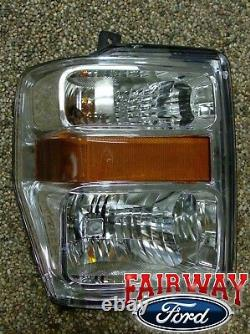 08 09 10 Super Duty F250 F350 OEM Genuine Ford RIGHT Passenger Head Lamp Light