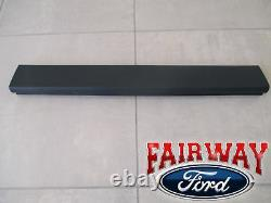 08 thru 16 Ford F-250 F-350 OEM Genuine Ford Top Flexible Step Tailgate Molding