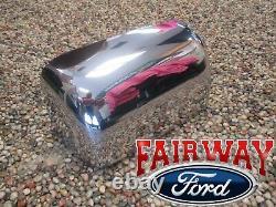 08 thru 16 Super Duty F-250 F-350 OEM Genuine Ford RH Chrome Mirror Cover