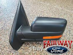 09 thru 10 F-150 OEM Genuine Ford Power Heat Signal Mirror Left Driver Side NEW