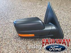 09 thru 10 F-150 OEM Genuine Ford Power Heat Signal Mirror Right Passenger Side