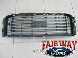 09 thru 14 F-150 OEM Genuine Ford FX2 FX4 Model Black Grille Paint-to-Match NEW