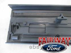 09 thru 14 F-150 OEM Genuine Ford Tailgate Flex Step Top Center Molding Cap Trim