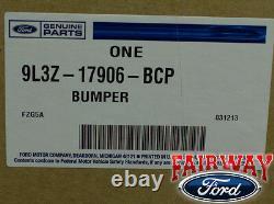 09 thru 14 Ford F-150 OEM Genuine Ford Rear Chrome Step Bumper with Prox LH Driver