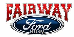 09 thru 14 Ford F150 OEM Genuine Ford 3 Bar Chrome Mesh Grille Grill withEmblem