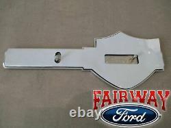 10 thru 12 F-150 OEM Genuine Ford Nickel Harley Davidson Tailgate Badge Emblem