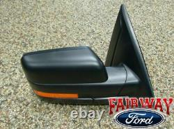 11 thru 14 F-150 OEM Genuine Ford Power Adjustable Heated Signal Mirror Right