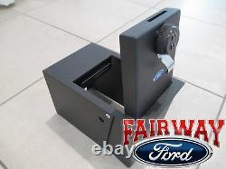 11 thru 19 Explorer OEM Genuine Ford Console Combination Security Vault Gun Safe