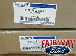 11 thru 19 Explorer OEM Genuine Ford Parts Windshield Pillar Trim Moldings PAIR