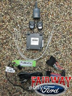 13 thru 15 Fusion OEM Genuine Ford Parts Remote Starter Kit Long Range NEW