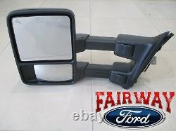 13 thru 15 Super Duty OEM Genuine Ford Full Power Trailer Tow Mirror LH Driver