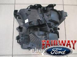 15 thru 17 F-150 OEM Genuine Ford Chrome LED Head Lamp Light RH Passenger NEW