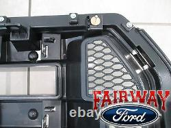 15 thru 17 F-150 OEM Genuine Ford Chrome and Mesh Grille Grill with Emblem NEW