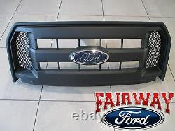 15 thru 17 F-150 OEM Genuine Ford Molded Carbon Black Grille Grill with Emblem NEW