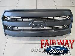 15 thru 17 F-150 OEM Genuine Ford Parts Molded Magnetic Grille Grill witho Camera