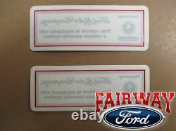 15 thru 17 F-150 OEM Genuine Ford Parts Scalable Security Alarm System Kit NEW