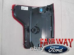 15 thru 17 F-150 OEM Genuine Ford Tail Lamp Light Passenger RH LED without Radar
