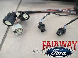 15 thru 18 Edge OEM Genuine Ford Rear Tail Lamp Reflector Panel TITANIUM + SPORT