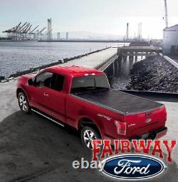 15 thru 20 F-150 OEM Genuine Ford Aluminum Hard Rolling Tonneau Cover 6-1/2' Bed