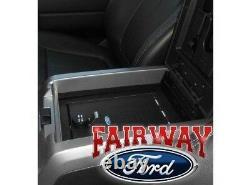 15 thru 20 F-150 OEM Genuine Ford Security Vault Gun Safe with FLOWTHRU CONSOLE