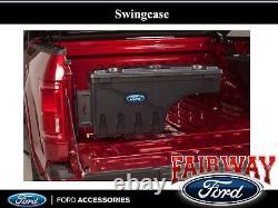 15 thru 20 Ford F-150 OEM Genuine Ford Lockable Pivot Storage Bed Box Driver's