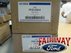 15 thru 20 Mustang OEM Genuine Ford 4-piece Brembo Red Brake Caliper Kit GT350R
