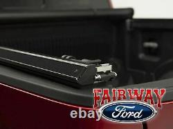 17 thru 21 Super Duty OEM Genuine Ford Soft Roll-Up Tonneau Cover 8' Long Bed