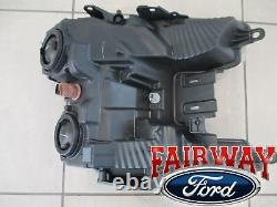 18 thru 20 F-150 OEM Genuine Ford Black Special Edition Headlamps XL XLT PAIR