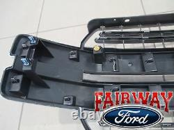 18 thru 20 F-150 OEM Genuine Ford Chrome & Mesh Grille Grille LARIAT