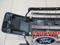 18 thru 20 F-150 OEM Genuine Ford Chrome & Mesh Grille Grille XLT