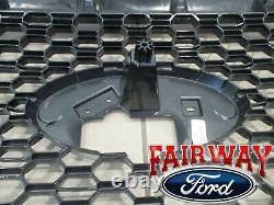 18 thru 20 F-150 OEM Genuine Ford Color Code J7 Magnetic & Black Grille Grill
