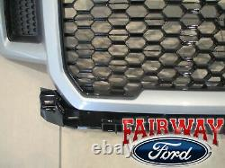 18 thru 20 F-150 OEM Genuine Ford Color Code JS Iconic Silver Grille Grill