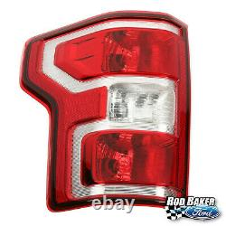 18 thru 20 Ford F-150 OEM Genuine LH Driver Side Rear Tail Lamp Light with Bulbs