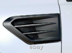 19 thru 20 Ranger OEM Genuine Ford Satin Black Fender Trim Vent Set of 2