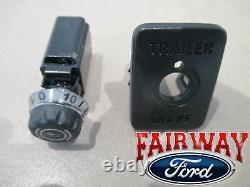 19 thru 21 Ranger OEM Genuine Ford Adjustable Trailer Brake Controller Kit