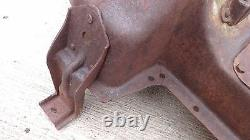 1912 1913 Model T Ford TEA CUP ENGINE PAN Original Pointed Nose