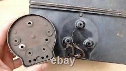 1915 1916 Model T Ford COIL BOX with SWITCH / LID Original one piece top