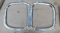 1930 1931 Model A Ford Coupe QUARTER WINDOW MOLDINGS Original pair CUSTOM CHROME