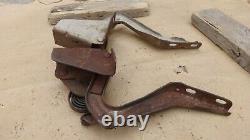 1949 1950 1951 Mercury TRUNK LID HINGES Original pair