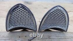 1955 1956 Chrysler DeSoto AIR CONDITIONING VENTS SCOOPS Original pair A/C hemi