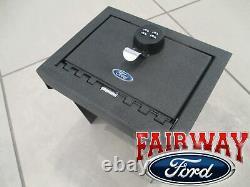20 thru 21 Explorer OEM Genuine Ford Console Combination Security Vault Gun Safe