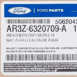 2005-2014 Ford Mustang Left Driver Side Window Door Weatherstrip OEM NEW Genuine