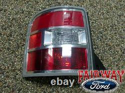 2009 2010 2011 Flex OEM Genuine Ford Parts LEFT DRIVER Tail Lamp Light NEW