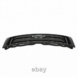 2009 thru 2014 OEM Genuine Ford F-150 Black XL Model Grille with Ford Emblem