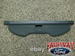 2013 thru 18 Escape OEM Genuine Ford Parts Cargo Security Shade Charcoal Black