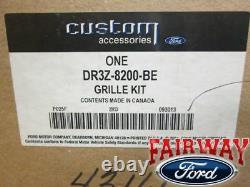 2013 thru 2014 Mustang OEM Genuine Ford Billet Stainless Grille Grill with Emblem