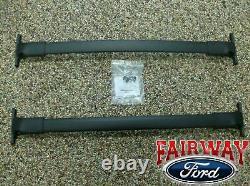 2013 thru 2019 Escape OEM Genuine Ford Black Roof Rack Cross Bar Set 2-piece NEW